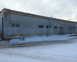 Здание гараж