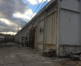 Здание склад запасных частей ЦРМ